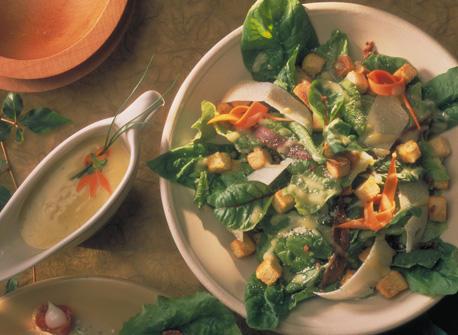 Spinach Caesar Salad Recipe