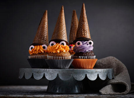 Spooky Witches Cupcakes Recipe