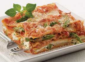 Spring Asparagus Lasagna