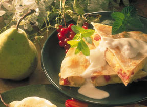 Strawberry and Pear Quesadillas