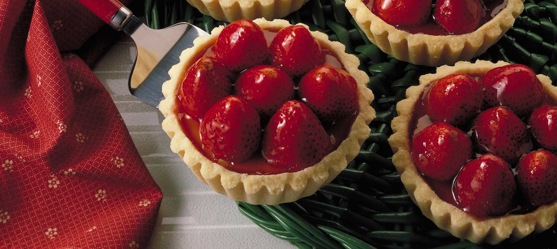 Strawberry Cheesecake Tarts recipe   Dairy Goodness
