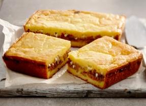 Stuffed Corn Bread Sandwich