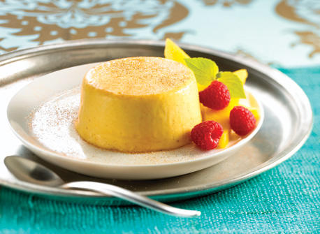 Sugar and Spice Mango Panna Cotta recipe | Dairy Goodness