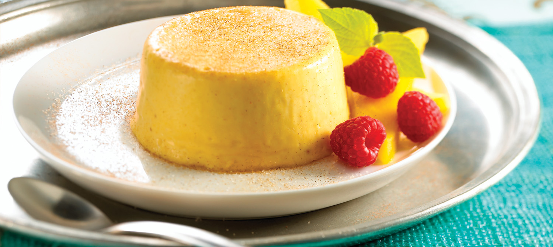 Sugar and Spice Mango Panna Cotta recipe | Dairy Goodness