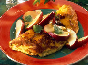 Sweet Apple Omelet