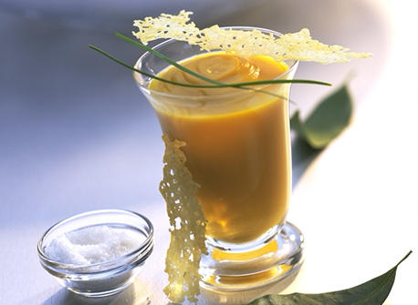 Sweet Potato and Canadian Gouda Soup Recipe