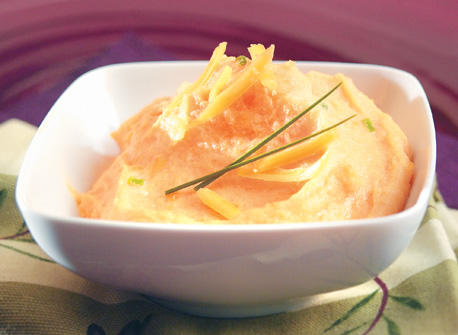 Sweet Potato and Cheddar Polenta Recipe