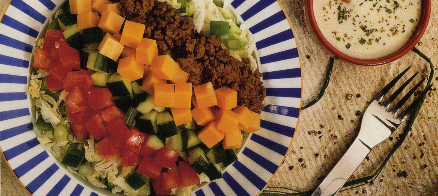 Taco Salad Bowls recipe