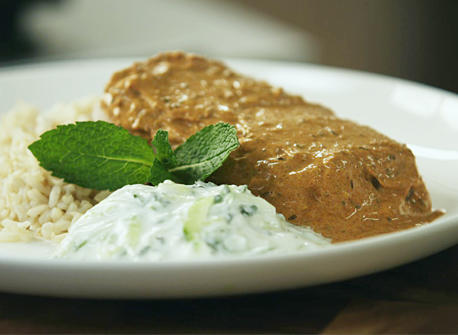 Tandoori-Style Roasted Cod Recipe