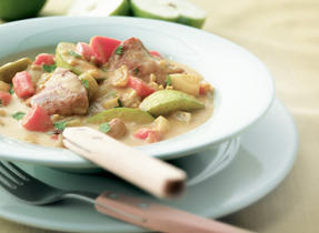 Tangy Chicken and Vegetable Stew