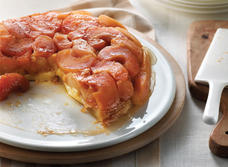 Tarte Tatin with Le Gré des Champs Cheese