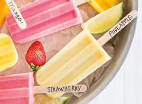 Tasty Fruit Ice Pops
