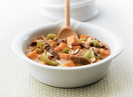 Tender Beef and Sweet Potato Sauté Recipe