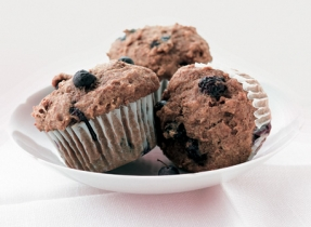 The Best Blueberry Bran Muffins