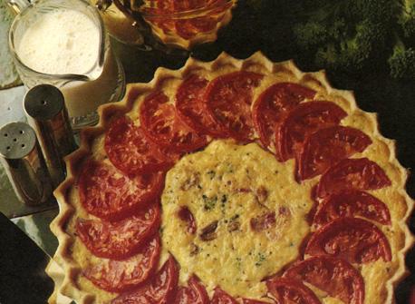 Tomato and Broccoli Quiche Recipe