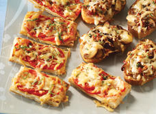 Tomato and Cheddar tart