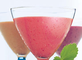 Trio of Fruit Smoothies