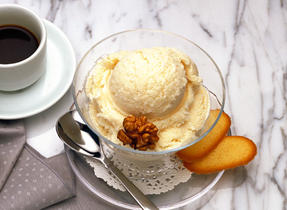 Triple Cream Brie Ice Cream