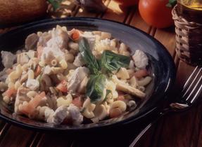 Tuna and Bleubry Cheese Macaroni