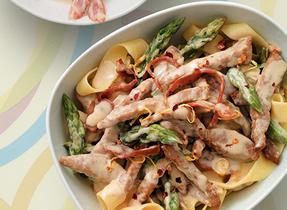 Veal Saltimbocca Pasta