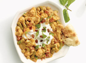 Vegetable Channa Masala