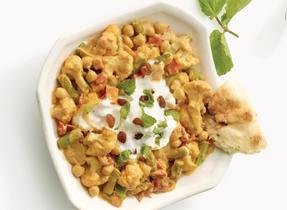 Vegetable Channa Masala