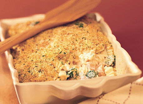 Vegetable Pasta Gratin Recipe