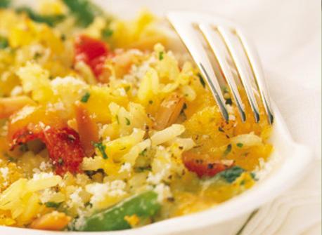 Vegetable Rice Bake Recipe