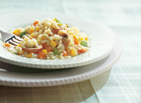 Vegetable Risotto with Parmesan