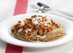 Veggie-Packed Spaghetti Meat Sauce