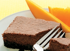 Velvety Chocolate Cheesecake Squares (Cooking Club Size)