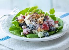 """Waldorf"" Berry Salad"