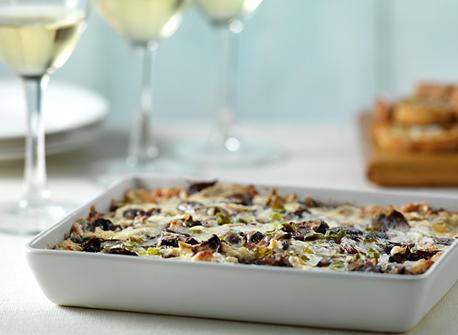 Warm Roasted Mushroom, Green Onion and Cheddar Dip Recipe