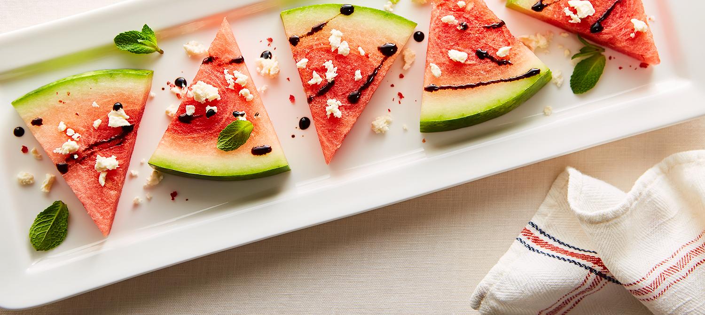 Watermelon Feta Bites recipe   Dairy Goodness