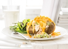 Weeknight Tuna Melt Potatoes recipe | Dairy Goodness
