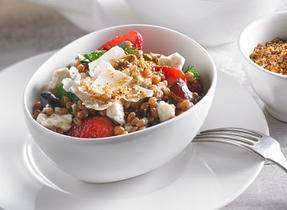 Wheat Berry Salad with Dukkah