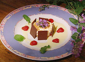 Wild Strawberry Tart