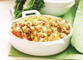 Winter vegetable Croustade Au Gratin (Cooking Club Size)