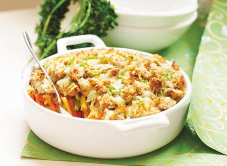 Winter Vegetable Croustade Au Gratin Recipe