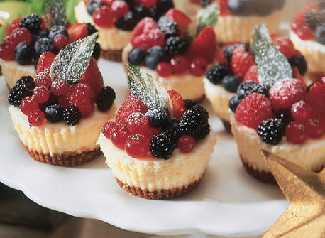 Holiday Cheesecake Cups Recipe Dairy Goodness