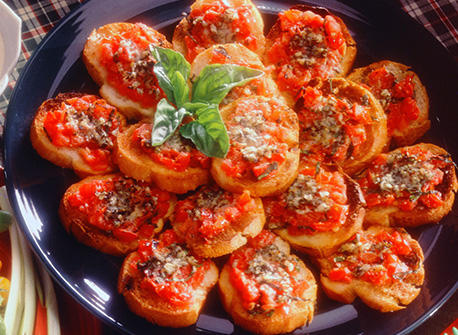 Herbed Bruschetta Recipe