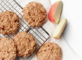 Yummy Apple Breakfast Cookies