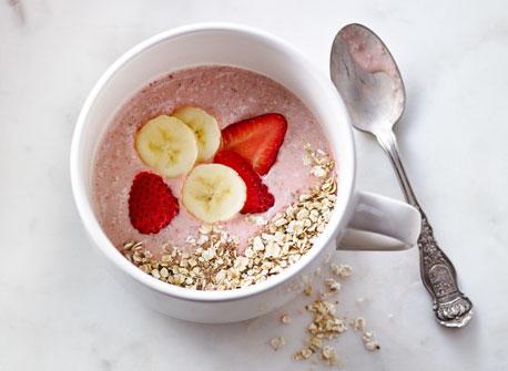 Breakfast Muesli Smoothie Bowl Recipe