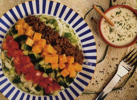 Taco Salad Bowls Recipe