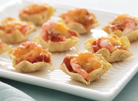 Salsa Shrimp Melts Recipe