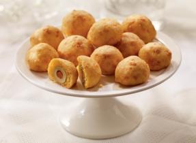 Cheddar olive balls