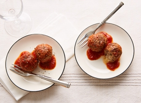 Mark Filatow's lamb meatballs