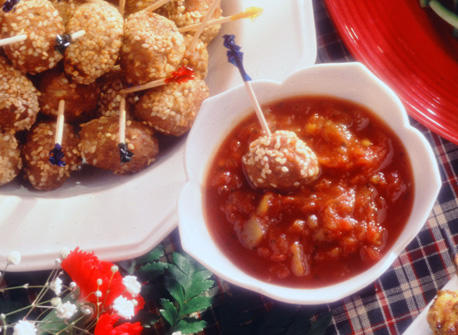 Oriental Christmas Meatballs recipe | Dairy Goodness