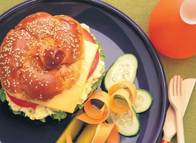 Egg and Cheese Burgers