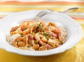 Shrimp and Cauliflower Curry